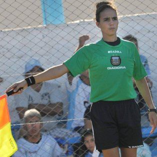 Nadya Chiarotti será jueza asistente esta noche en el choque entre Central y Cañuelas.