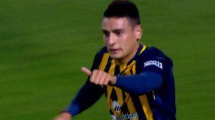 Mirá el primer gol del mediocampista Mauricio Martínez con la camiseta canalla