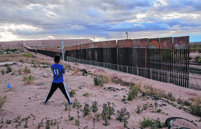 Sin futuro. La actual valla fronteriza en la zona de Ciudad Juárez