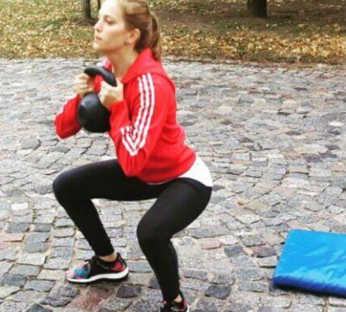 Luisana Lopilato retoma su rutina de fitness para ponerse en forma