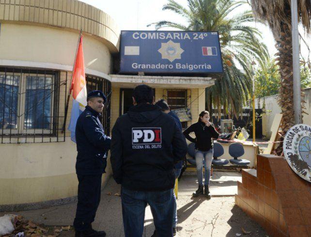 La comisaría 24ª llevó adelante las actuaciones por razones de jurisdicción. (Foto de archivo)