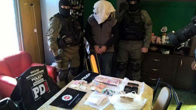 El operativo fue realizado por la PDI en conjunto con la Tropa de Operaciones Especiales (TOE).