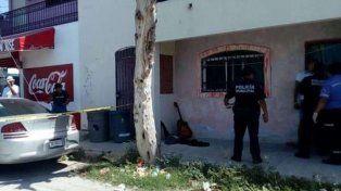 La imagen del despliegue policial tras el asesinato.