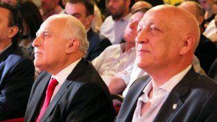 En tándem. Miguel Lifschitz y Antonio Bonfatti replicaron las aseveraciones del jefe de Gabinete.