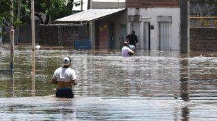 Calamidad. La ley ayudará a reconstruir viviendas que fueron anegadas.