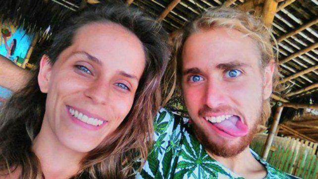 Cintia y Francisco. Hacía más de un año que vivían en Playa del Carmen.