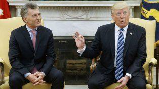 Ambos mandatarios se repartieron elogios previo a la reunión bilateral en la Casa Blanca.