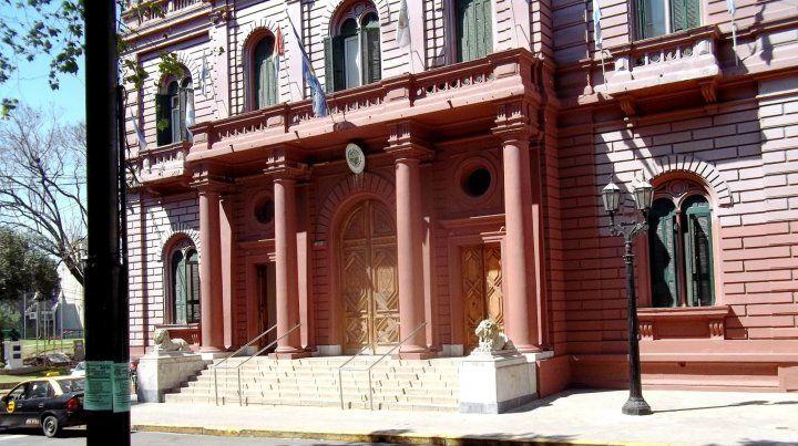 El Palacio municipal de Rosario.