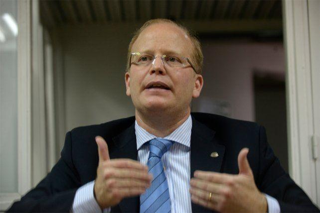Contigiani fue uno de los oradores en el debate organizado por el partido GEN en la ciudad.