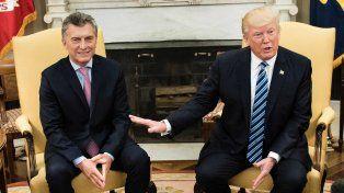 Halago. Conozco a Mauricio desde hace años; va a hacer un trabajo fantástico para la Argentina, dijo Trump.