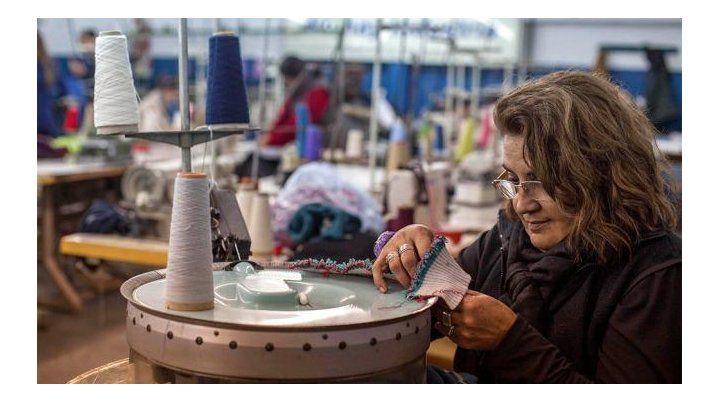En picada. El sector textil fue el rubro industrial más afectado.