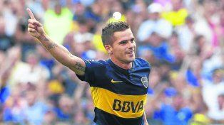 El dueño del medio. Fernando Gago vuelve tras una lesión que lo marginó un mes.