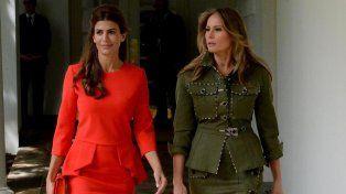Aseguran que el vestido de Juliana Awada es igual a uno que usó la Reina Letizia