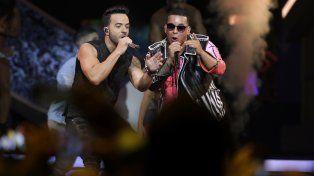 Furor por Daddy Yankee y Luis Fonsi que cantaron por primera vez Despacito en vivo