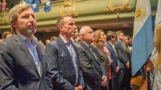 El acto de conmemoración del levantamiento del Gueto de Varsovia se realizó en la Plataforma Lavardén.