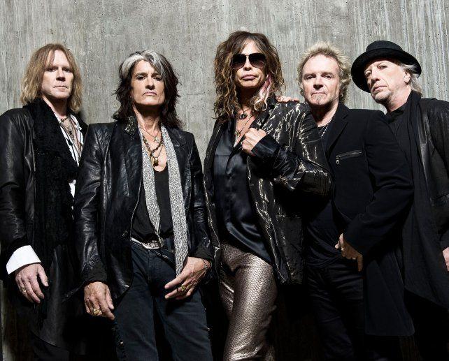 Aerosmith confirmó su presentación del próximo 3 de octubre en Central.