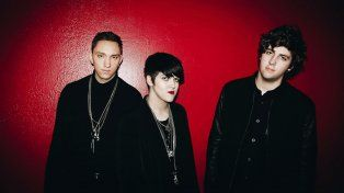 Tres patas. Oliver Sim, Rommy Madley Croft y Jamie Smith forman The XX.