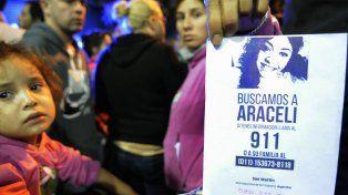 Araceli estuvo desaparecida casi un mes.