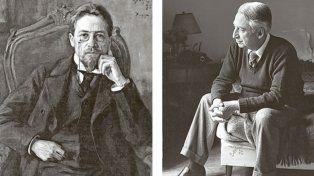 Antón Chéjov y Roland Barthes.
