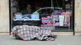 Se lanzaron las campañas para paliar el frío en Rosario