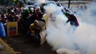 Resistencia y represión. Ayer fue otra jornada más de marchas opositoras y represión sin cuartel.