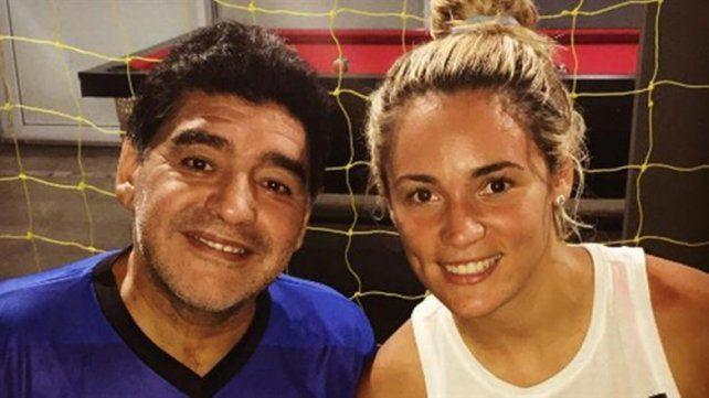 Rocío Oliva confirmó que está en crisis con Maradona y está en duda su presencia en el Bailando