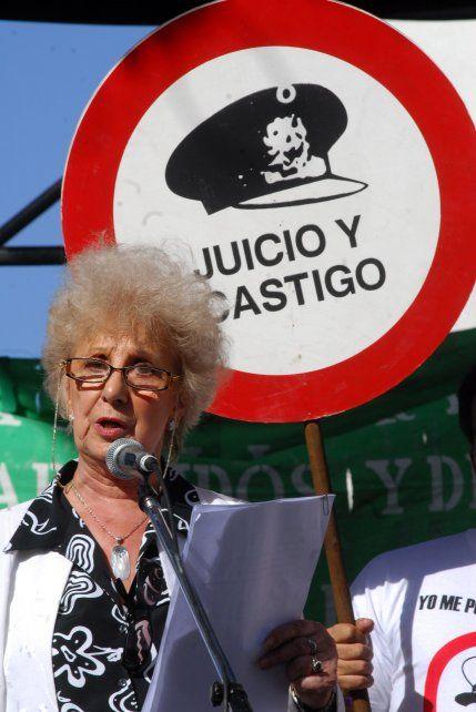 Firme. Carlotto dijo que es imposible el diálogo con quienes secuestraron y mataron a sus familiares.