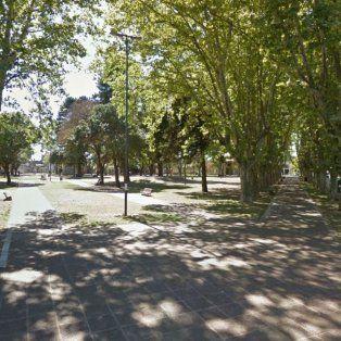 Las jóvenes fueron perseguidas hasta la plaza Saavedra.