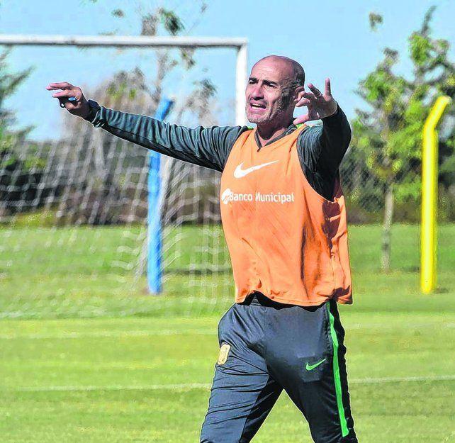 A definir. Montero está convencido de que la mejor forma de jugar que tiene su equipo es buscando siempre el arco de enfrente.