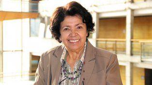 La educadora de la Universidad de Chile María Victoria Peralta Espinosa.