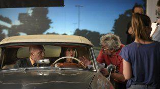 Acción. Grandinetti y Fulop rodaron ayer en Rosario