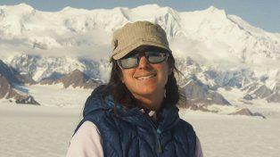 Alpinista. Natalia Martínez es una mendocina de 36 años.