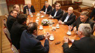 Análisis. El gobernador Lifschitz encabezó una reunión para discutir cómo sigue la crisis de Sancor.