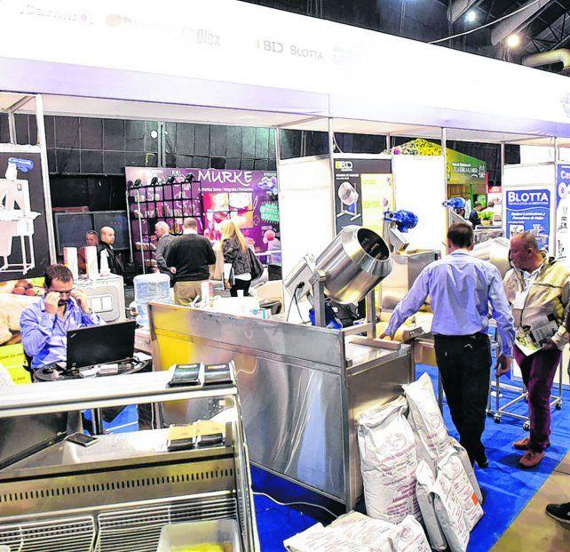 Innovación. Muchas empresas presentaron en la feria sus nuevos productos.