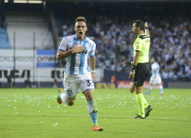 El único gol lo convirtió el juvenil de la Selección argentina Sub 20 Lautaro Martínez