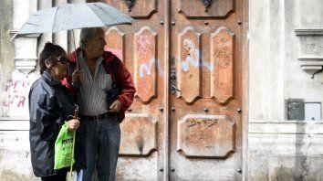 lloviznas desde la madrugada y alerta meteorologico por tormentas en rosario