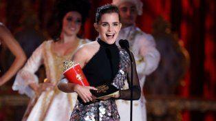 La actriz británica ganó por su papel en La bella y la bestia.