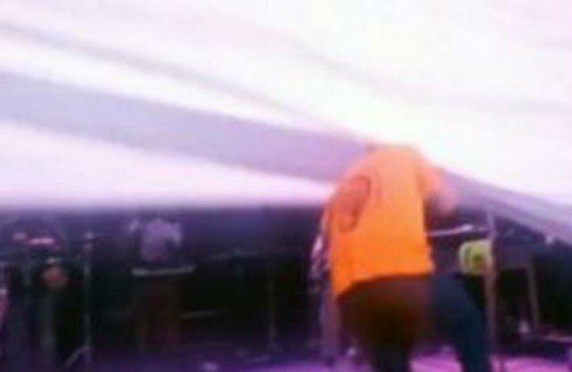El Pepo sufrió un accidente apenas arrancó el show en Bahía Blanca