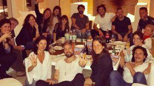 Pampita y Pico Mónaco estrenaron su nueva casa con amigos y bailando Despacito