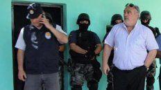 El gobernador de Corrientes, Ricardo Colombi, detuvo a José Moyano en un operativo en Goya.