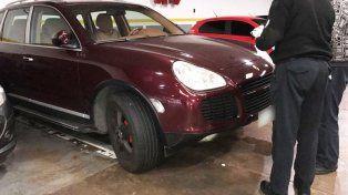 La Porsche Cayenne que manejaba Radetic fue hallado en un estacionamiento de barrio Palermo.
