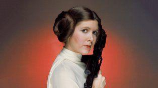 Ícono. Carrie Fisher como Leia.