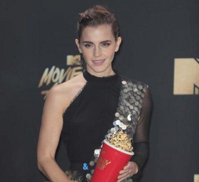 Emma Watson ganó un premio sin género