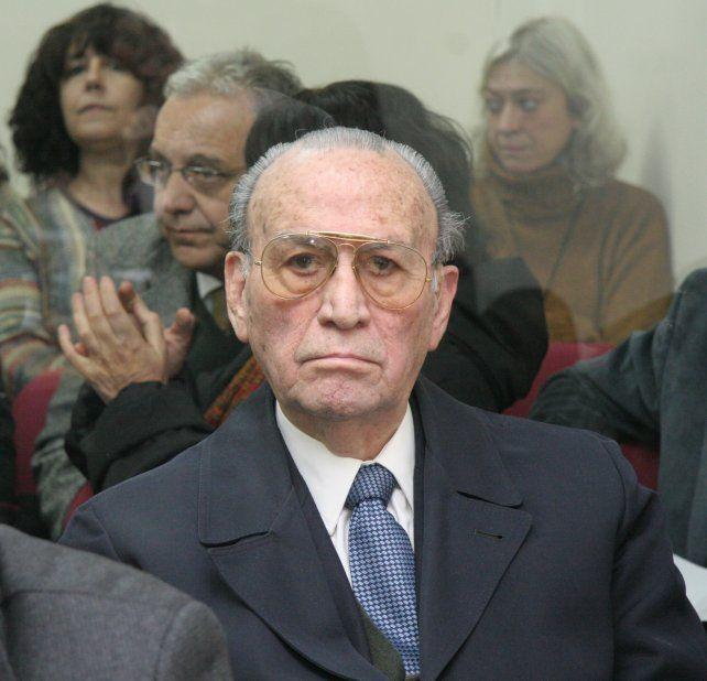 Ramón Díaz Bessone. El ex mandamás del II Cuerpo de Ejército fue condenado en marzo de 2012.