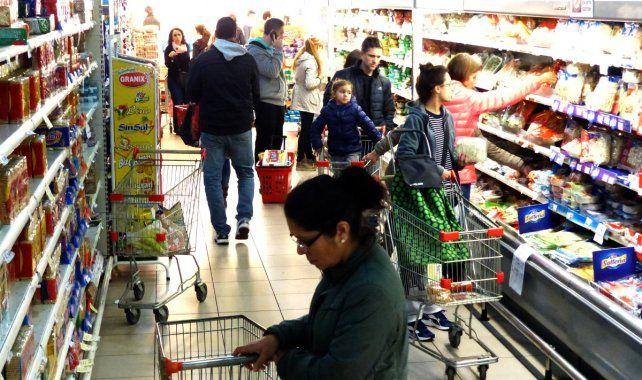 Inflación. El alza de precios pega más en el sector asalariado.