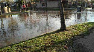 El titular de la comuna de Melincué le pegó a la provincia por la inundación: Son unos atorrantes