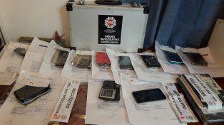 Los teléfonos celulares serán peritados por la Justicia.