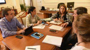 Los secretarios estuvieron reunidos con la intendenta Fein para realizar el balance cuatrimestral.