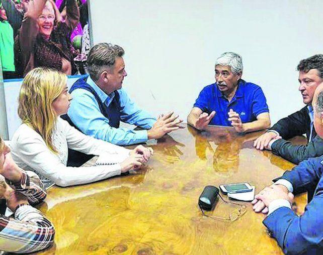 Gestiones. Autoridades municipales se reunieron con directivos de Pami.