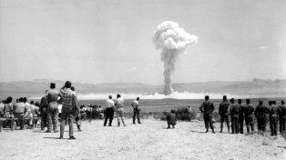 Maralinga. Los ingleses hicieron ensayos nucleares hace 50 años.